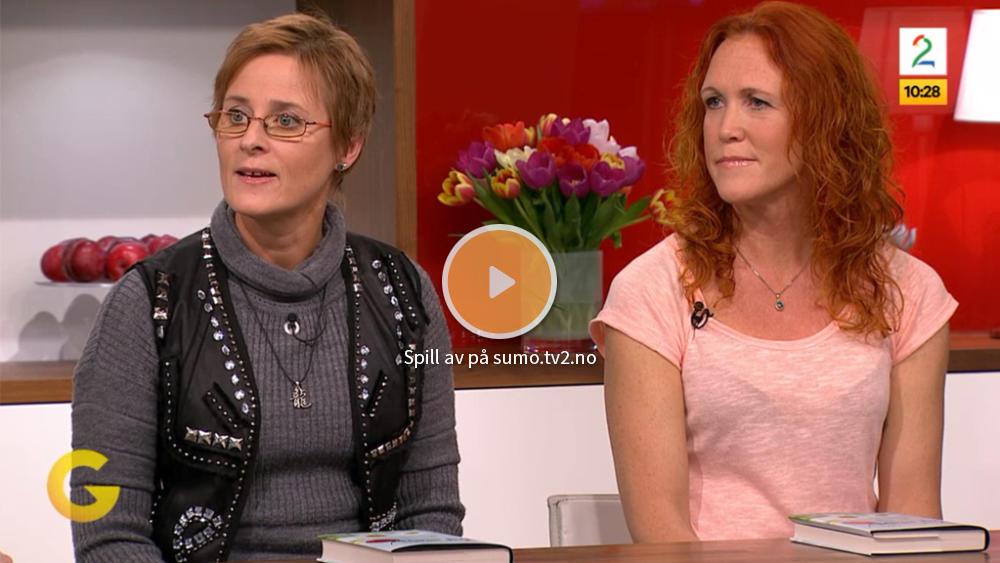 Bilde: Lian Kirksæther og Ihren Abrahamsson på TV2 - God Morgen Norge.